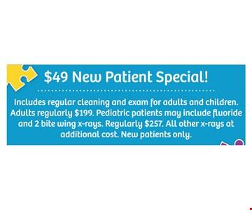 $49 new patient special.