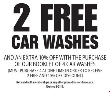 One Free Car Wash Coupon