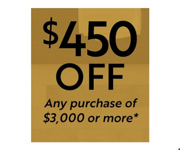 $450 Off Any Purchase of $3,000 or More. Must Present Coupon at Time of Purchase. Limit one per household. Not valid with other offers, discounts or prior purchases. Excludes outlet material and clearance items. Discount applied before tax. Valid at Best Tile Cheektowaga location only.