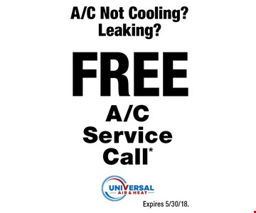Complete A/C Tune-Up* $49 -Up to 1 lb. Freon (R410a) -Add solution to drain line - Coil deodorizer* -24 point inspection.