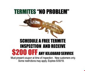 $200 Off any Kilquard service - New customers only.