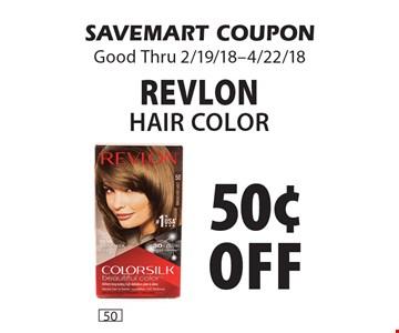 50¢ off Revlon Hair Color. SAVEMART COUPON Good Thru 2/19/18-4/22/18