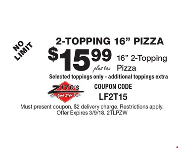 2-Topping 16