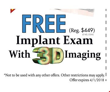 Free Implant Exam with 3D Imaging