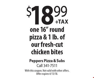 $18.99 +Tax one 16