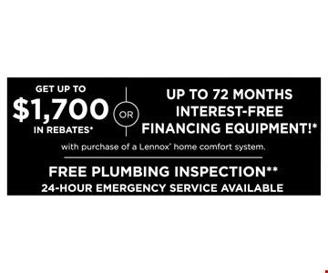 Get up to $1700 in rebates