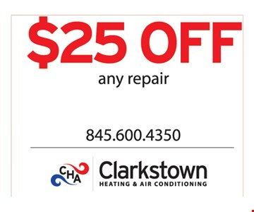 $25 off any repair.