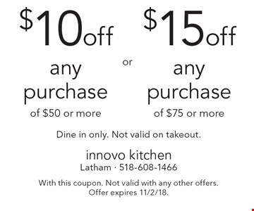 innovo kitchen 10 off any purchase of 50 or more or 15 off any purchase - Innovo Kitchen