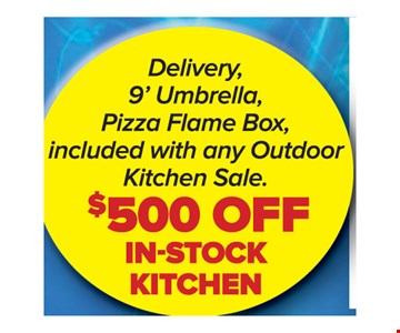 $500 Off In-stock Kitchen.