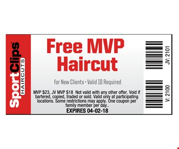 FREE MVP haircut  - New clients