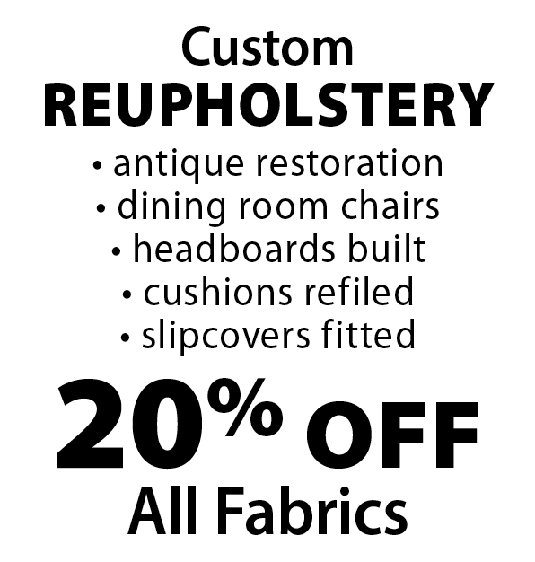ROCKVILLE INTERIORS: CustomReupholstery 20% Off All Fabrics   Antique  Restoration  Dining Room Chairs