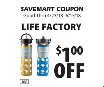 $1.00 off life factory. SAVEMART COUPON Good Thru 4/23/18- 6/17/18