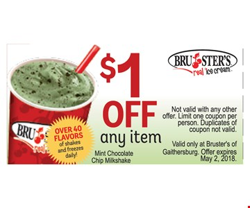 $1 Off any item$1 Off any item