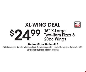 XL-WING DEAL $24.99 16