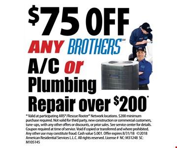 $77 the A/C tune up deal book by May 15