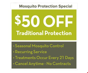 $50 Off Traditional Protection