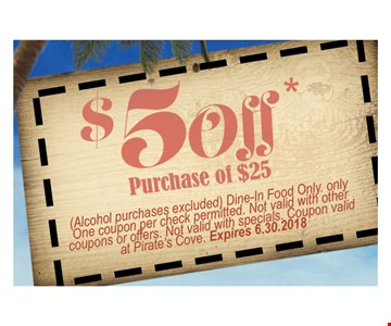 $5 off purchase of $25