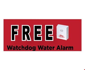 Free Watchdog water alarm