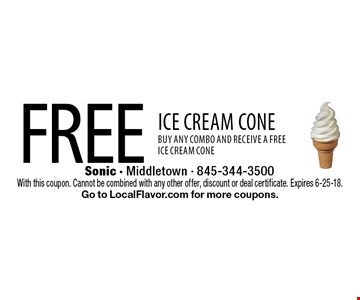 Free ICE CREAM CONE. BUY any combo and receive a free ice cream cone. With this coupon. Cannot be combined with any other offer, discount or deal certificate. Expires 6-25-18. Go to LocalFlavor.com for more coupons.