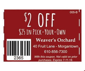With this coupon. Not valid on prior purchases