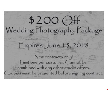 Expires June 15, 2018. New contracts only! Limit one per customer. Cannot be combined with any other studio offers. Coupon must be presented before signing contract.