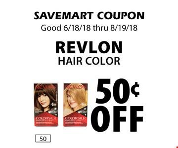 50¢ off revlon Hair Color. SAVEMART COUPON Good 6/18/18 thru 8/19/18