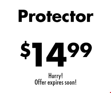 Carpet Cleaning Specials $14.99 Protector. Hurry! Offer expires soon!