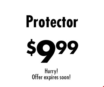 Upholstery Cleaning Specials $9.99 Protector. Hurry! Offer expires soon!