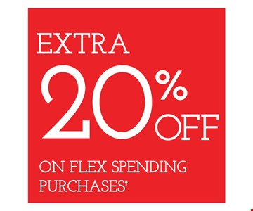 Extra 20% off on flex spending purchases. With purchase of frames from a select group with single-vision lenses. Contact lens exam additional. Good on purchase of frames and lenses paid for with Flex Spending Account funds. With purchase of frames and lenses. Some exclusions apply. Offer for new DAILIES wearers only. With purchase of (8) 90 packs of DAILIES AquaComfort Plus contact lenses. $220 rebate will be sent in the form of a prepaid Visa card to the address provided on the rebate form. On purchase of complete pair of prescription eyeglasses. Valid at Yonkers location only. Offers cannot be combined with insurance. Other restrictions may apply. See store for details. Limited time offers.