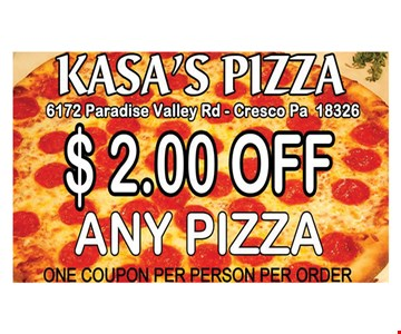 One coupon per person per order