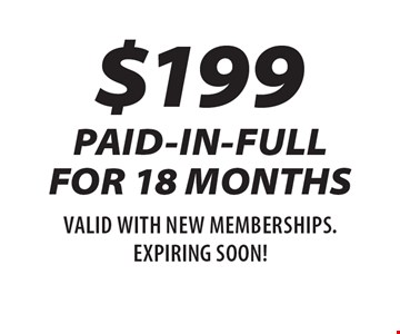 $199 PAID-IN-FULL 