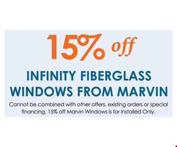 15% Off Infinity Fiberglass Windows From Marvin