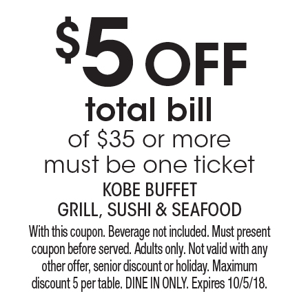 localflavor com kobe buffet grill sushi and seafood coupons rh localflavor com kobe seafood buffet coupons kobe buffet lake forest coupon