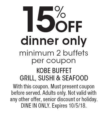 localflavor com kobe buffet grill sushi and seafood coupons rh localflavor com kobe buffet coupons kobe buffet coupons bel air md