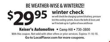 LocalFlavor.com - KEISER'S AUTOMOTIVE - $25 For PA State Inspection, Emissions and Tire Rotation ...