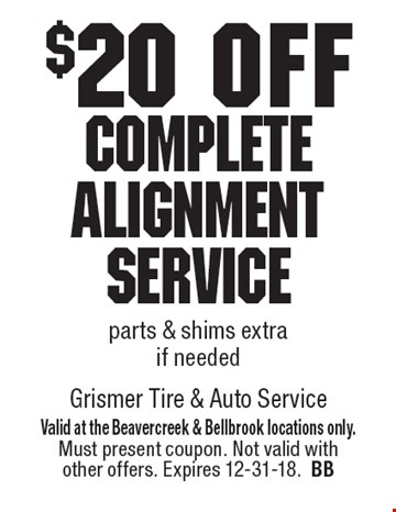 Grismer coupons