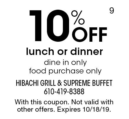 photograph regarding Hibachi Grill Supreme Buffet Coupons Printable called - Hibachi Grill and Final Buffet Discount coupons