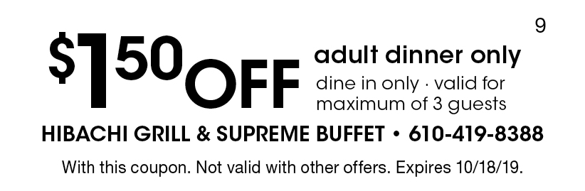 graphic relating to Hibachi Grill Supreme Buffet Coupons Printable identify - Hibachi Grill and Best Buffet Discount coupons