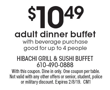 hibachi grill downingtown pa coupons