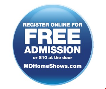 Register online for free admission or $10 at the door