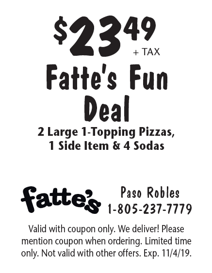 About Fattes Pizza