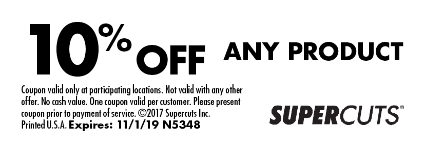 picture regarding Supercuts Printable Coupons known as - Tremendous CUTS Discount codes
