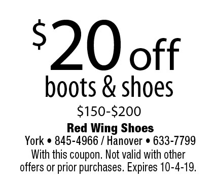 picture relating to Red Wings Boots Printable Coupons identified as - Crimson WING Footwear Coupon codes
