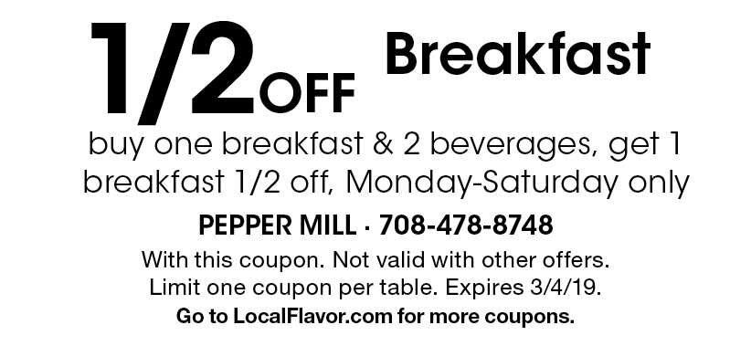 peppermill restaurant coupons