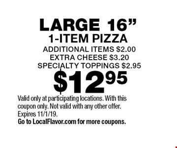 $12.95 large 16