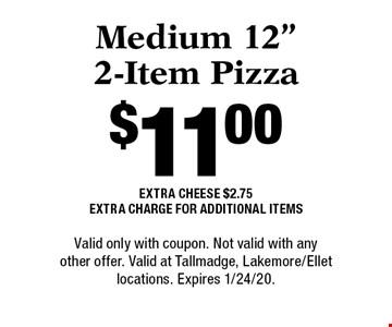 $11.00 Medium 12