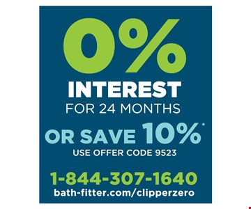 0% Interest For 24 Months Or Save 10%* Use offer code 9523. Tub-to-shower conversions and fiberglass replacements typically require a two-day installation. Lifetime warranty valid for as long as you own your home. *Offer ends 3/24/19. Minimum deposit required. Terms of promotional financing are 24 months of zero interest from the date of purchase. Must schedule installation within 10 weeks of estimate date. Full purchase must be paid in full within 24 months of purchase date. See representative for details. Qualified buyers only. All offers must be presented and used at time of estimate only. May not be combined with other offers or applied to previous purchases. Valid only at select Bath Fitter locations. Offers and warranty subject to limitations. Fixtures and features may be different than pictured. Accessories pictured are not included. Daniel Paul Hemshrodt MD MPL 17499, MD HIC 129995, VA HIC 2705146537, DC HIC 420213000044. Each Franchise Independently Owned And Operated By Mid Atlantic Bath Solutions, LLC. Lifetime Warranty One-Day Installation One-Piece Seamless Wall Certified Technicians.