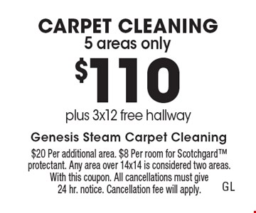 LocalFlavor com - Genesis Steam Carpet Cleaning Coupons