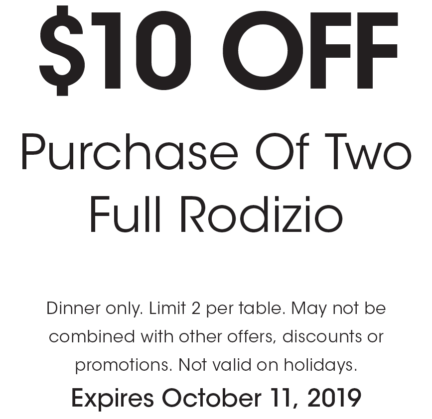 photo about Rodizio Grill Coupons Printable named - Rodizio Grill - $25 For $50 Relevance Of