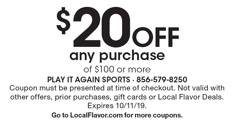 picture regarding Play It Again Sports Coupons Printable identify - Perform It Once again Athletics - $15 For $30 Truly worth